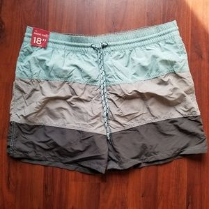 NWOT Swim Trunks